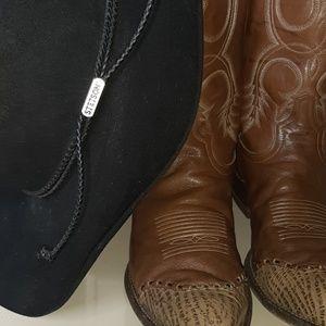 Tony Lama Black Label Cowboy Boots Size 9 EE